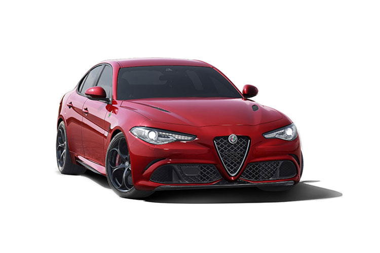 Front view of Alfa Romeo Giulia 2.2D Turbo 160hp Super Auto