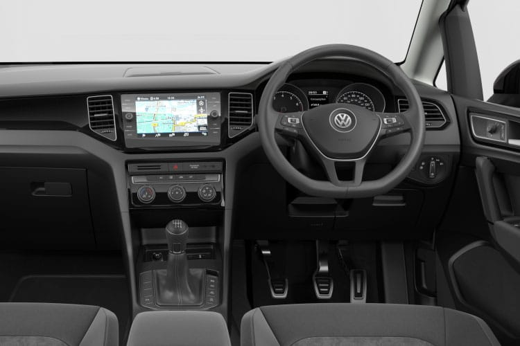 Inside view of Volkswagen Golf SV 5 Door Hatch 1.5EVO TSI 150 GT Edition DSG (MY2020)