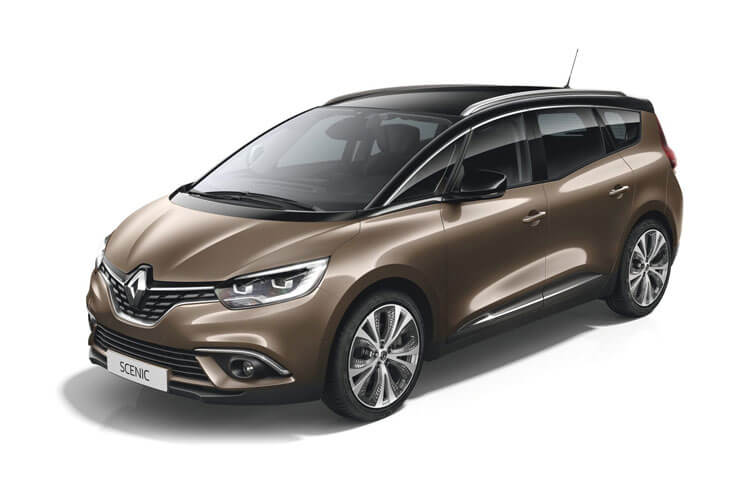 Front view of Renault Grand Scenic 1.3 TCE 140 Play