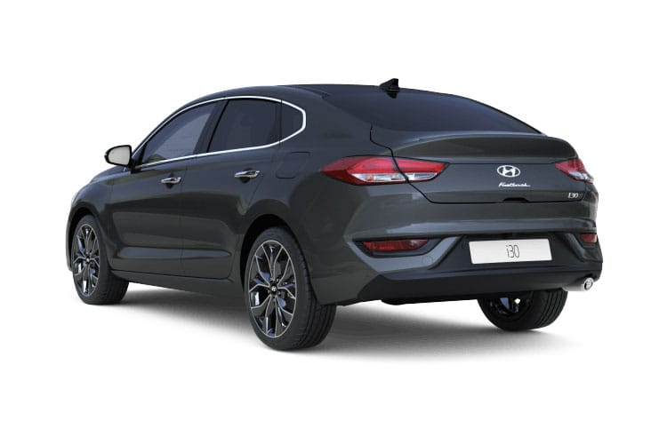 Back view of Hyundai i30 5 Door Fastback 1.0 T-GDi 120ps Premium