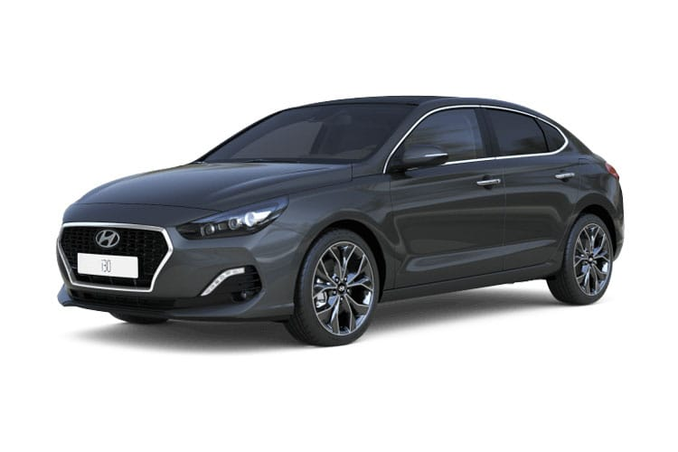 Front view of Hyundai i30 5 Door Fastback 1.0 T-GDi 120ps Premium