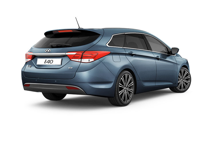 Back view of Hyundai i40 Tourer 1.6 CRDi 115 SE Nav