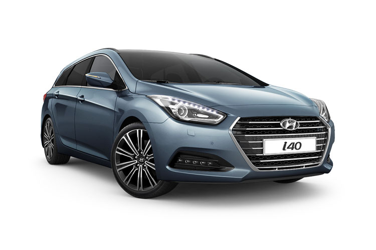 Front view of Hyundai i40 Tourer 1.6 CRDi 115 SE Nav