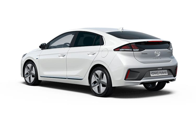 Back view of Hyundai Ioniq Hatch 1.6 GDI Hybrid SE Connect DCT