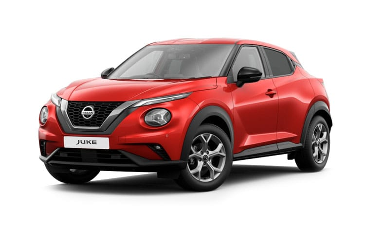 Front view of Nissan Juke Hatch 1.0 Dig-T 114ps Visia