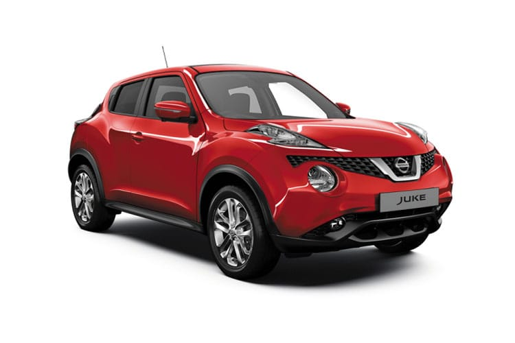 Front view of Nissan Juke Hatch 1.0 Dig-T 117ps Acenta (MY2019)