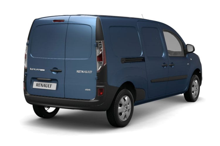 Back view of Renault Kangoo LL21 i Maxi ZE 33 Business