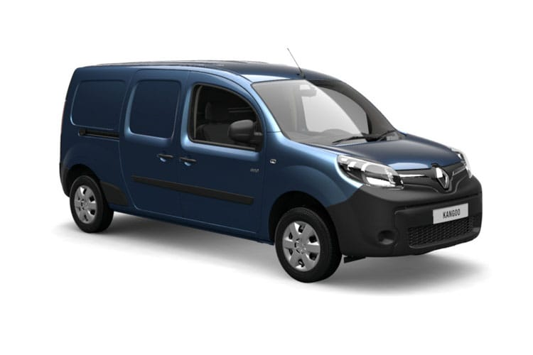 Front view of Renault Kangoo LL21 i Maxi ZE 33 Business+