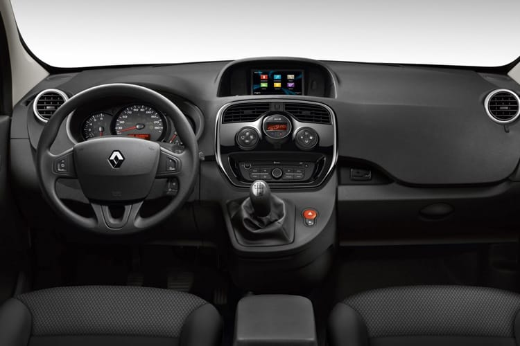 Inside view of Renault Kangoo Van ML19dCi 80 Energy Business