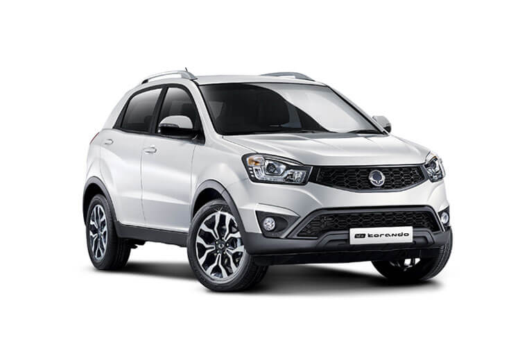 Front view of Ssangyong Korando Commercial 2.2 Cse