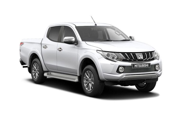 Front view of Mitsubishi L200 Pick Up 2.4DI-D Challenger Double Cab Auto 4Drive (MY2019)