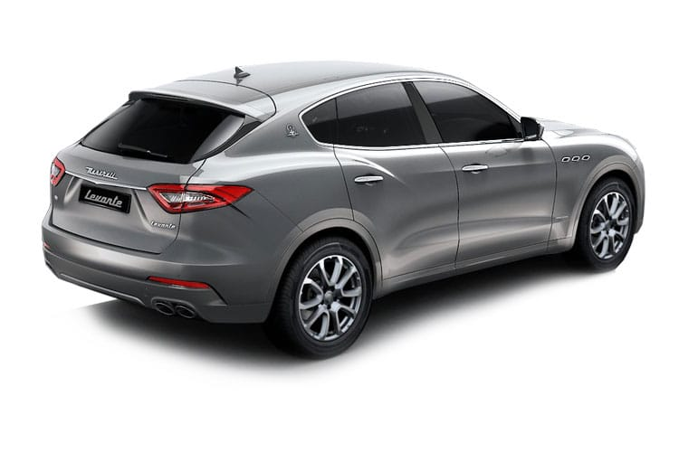 Back view of Maserati Levante 3.0 V6 350hp Granlusso Auto