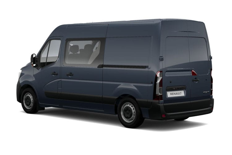 Back view of Renault Master Crew Van FWD LM35 dCi 135 Business