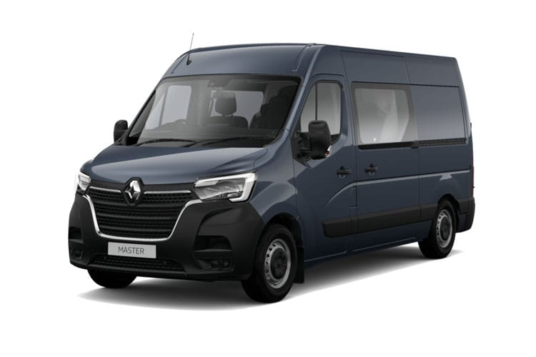 Front view of Renault Master Crew Van FWD LM35 dCi 135 Business