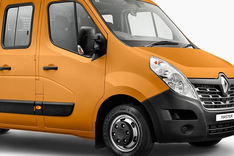 Detail view of Renault Master Chassis Double Cab LLL35TW dCi Energy 145 Business RWD