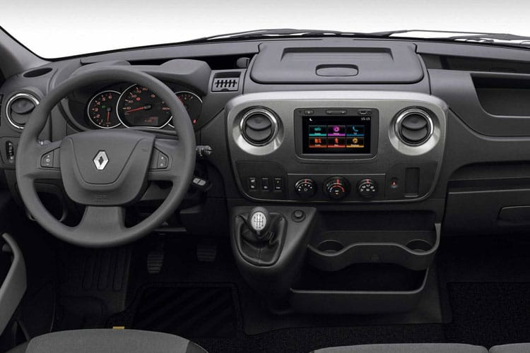 Inside view of Renault Master Tipper Double Cab MLL35TW dCi 130 Business RWD
