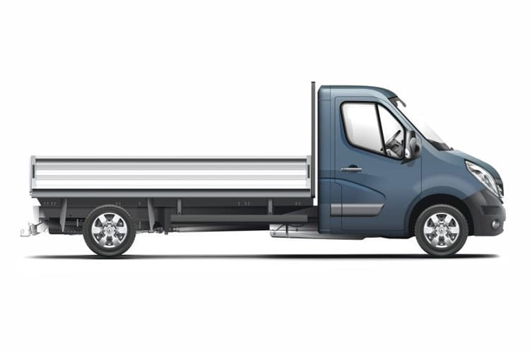 Detail view of Renault Master Dropside Chassis Cab ML35TW dCi Energy 145 Business RWD