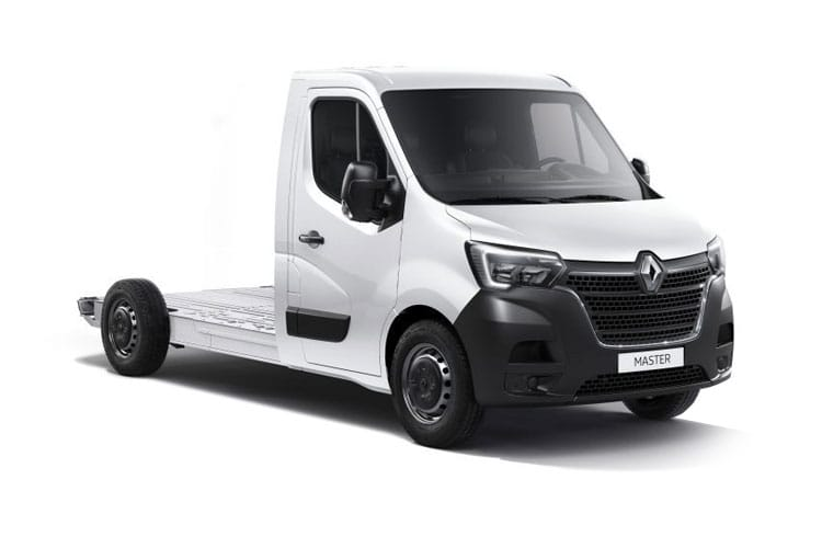 Front view of Renault Master Platform Cab ML35 dCi 135 Business FWD