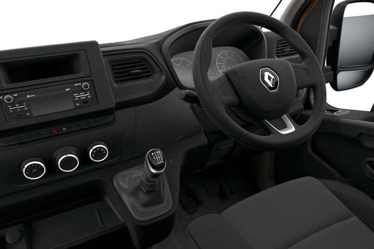 Inside view of Renault Master Platform Cab ML35 dCi 135 Business FWD