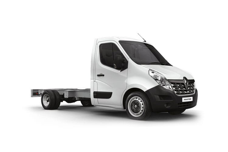 Front view of Renault Master Platform Cab ML35 dCi 135 Business FWD (MY2019)