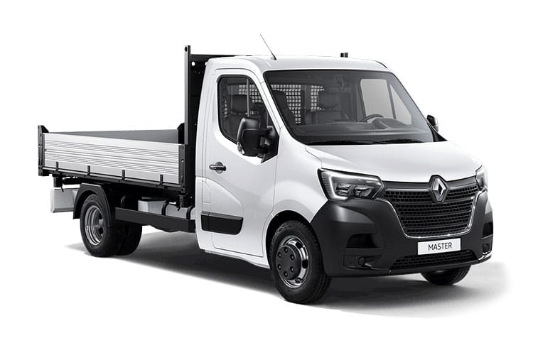 Front view of Renault Master Tipper ML35 dCi 135 Business FWD