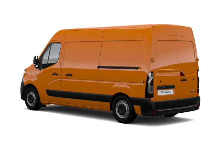 Back view of Renault Master 4X4 MML35 dCi 130 Business
