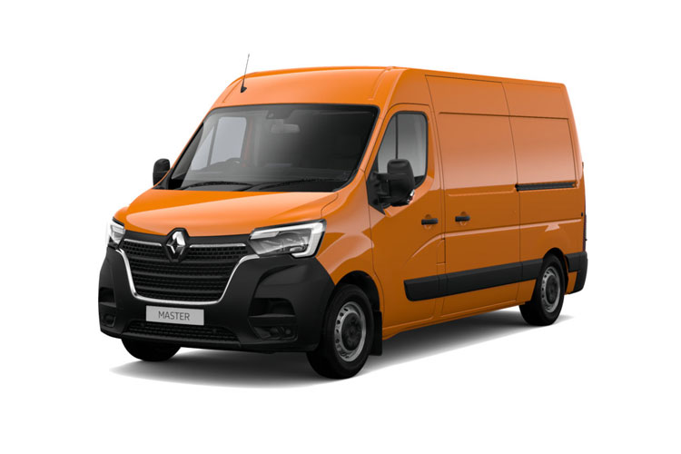 Front view of Renault Master 4X4 MML35 dCi 130 Business
