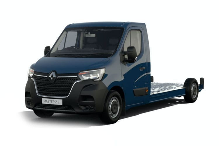 Front view of Renault Master  Limited Edition Nav Lldr LL31 I ZE 57KW Business