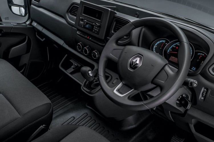 Inside view of Renault Master  Limited Edition Nav Lldr LL31 I ZE 57KW Business