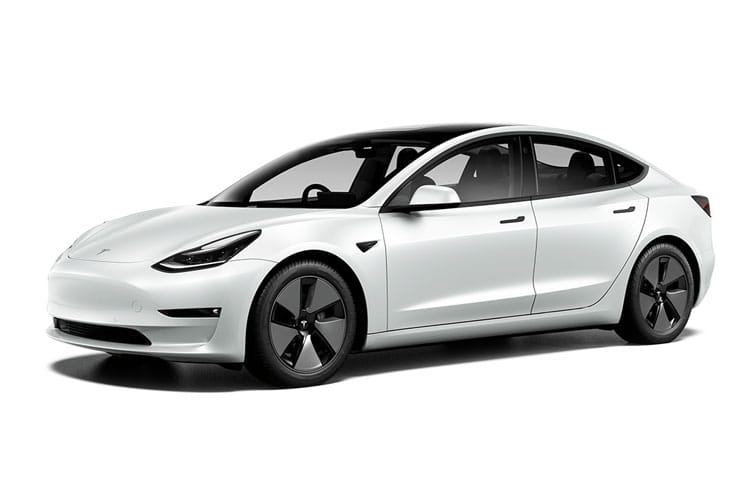Front view of Tesla Model 3 Saloon Standard Plus Auto RWD