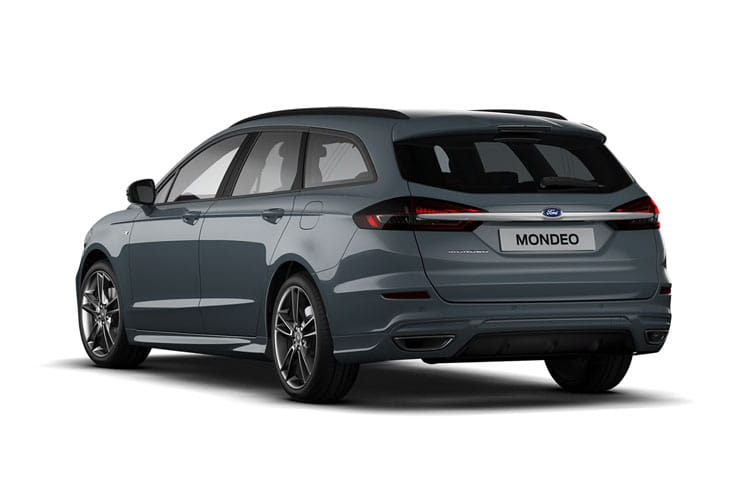 Back view of Ford Mondeo Estate 2.0 TiVCT Hybrid Zetec Edition Auto