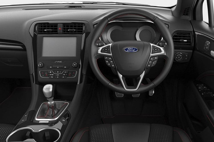 Inside view of Ford Mondeo Estate 2.0 TiVCT Hybrid Zetec Edition Auto