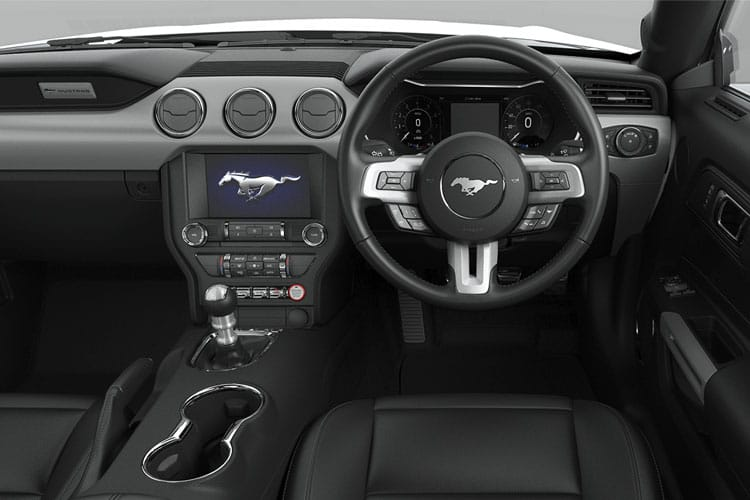 Inside view of Ford Mustang Convertible 5.0 V8 450 GT Custom 2