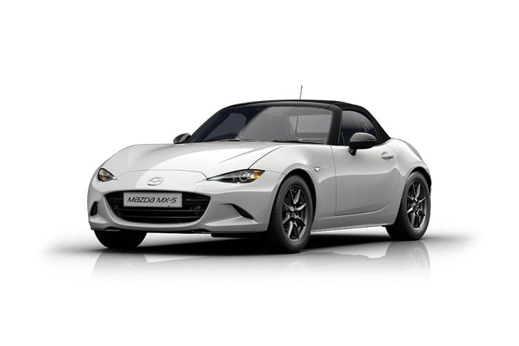 Front view of Mazda MX-5 2 Door Convertible Sav-G 1.5 132ps SE-L