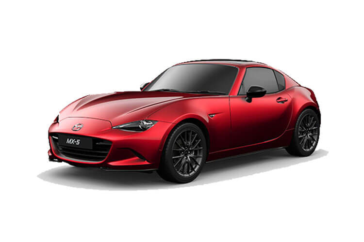 Front view of Mazda MX-5 RF Skyactiv-G 1.5 132ps SE-L (MY2020)