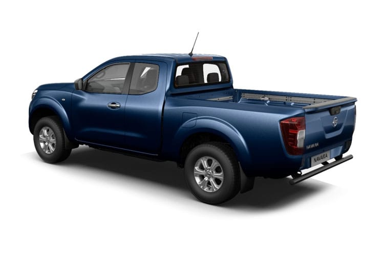 Back view of Nissan Navara Pick Up Kng Cab 2.3dCi TT Visia Chs 4Drive