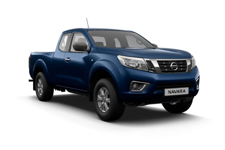 Front view of Nissan Navara Pick Up Kng Cab 2.3dCi TT Visia Chs 4Drive
