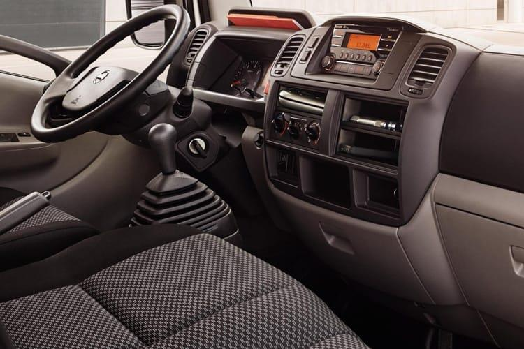 Inside view of Nissan NT400 Cabstar LWB Double Cab Dropside 35.13 3.0dCi