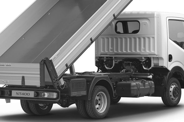Detail view of Nissan NT400 Cabstar MWB Tipper 35.13 3.0dCi
