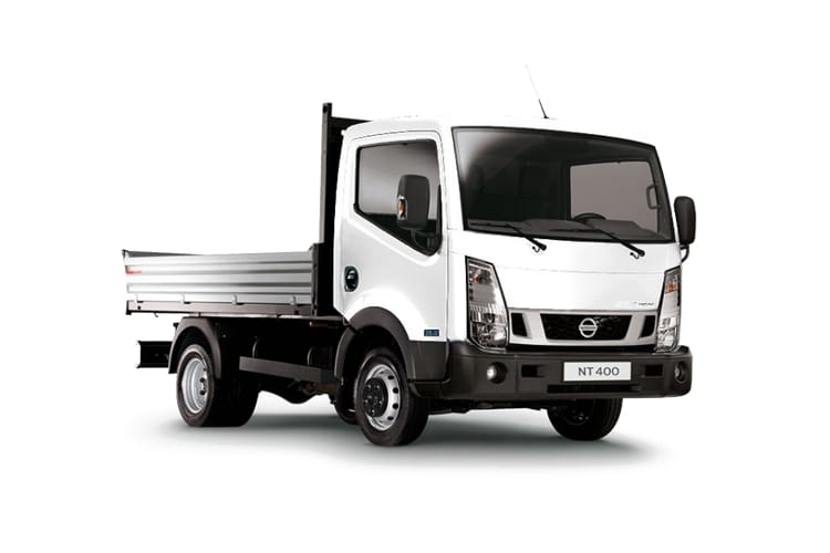 Front view of Nissan NT400 Cabstar MWB Tipper 35.13 3.0dCi