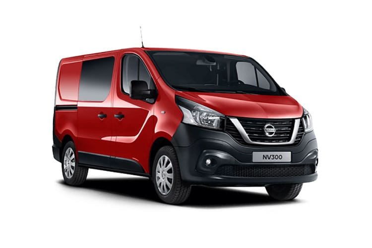 Front view of Nissan NV300 Crew Van 30 L2H1 2.0dCi 145 Acenta Start+Stop