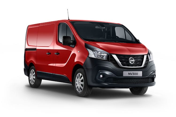 Front view of Nissan NV300 Van 30 L2H2 2.0dCi 145 Acenta Start+Stop