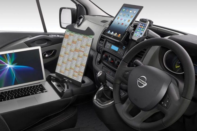 Inside view of Nissan NV300 Van 30 L2H2 2.0dCi 145 Acenta Start+Stop