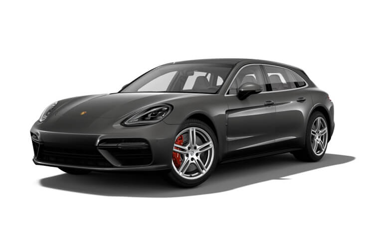 Front view of Porsche Panamera Estate 2.9 V6 4 330 Pdk