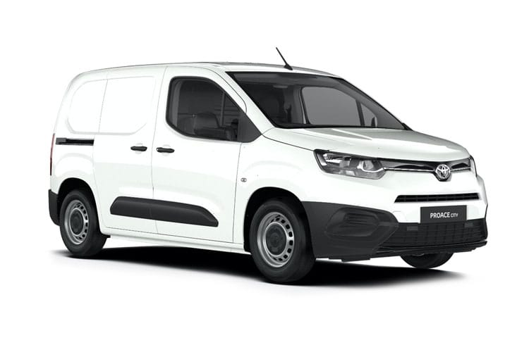 Front view of Toyota Proace City 1.5D L1 75 Active