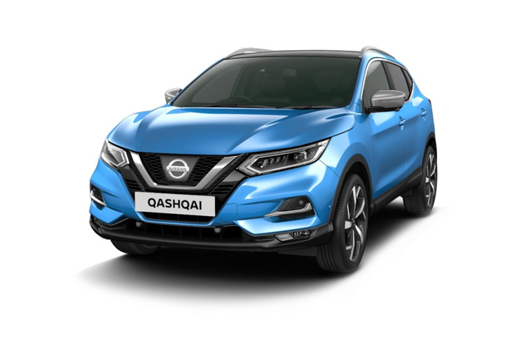 Front view of Nissan Qashqai 1.3 Dig-T 140 Acenta Premium