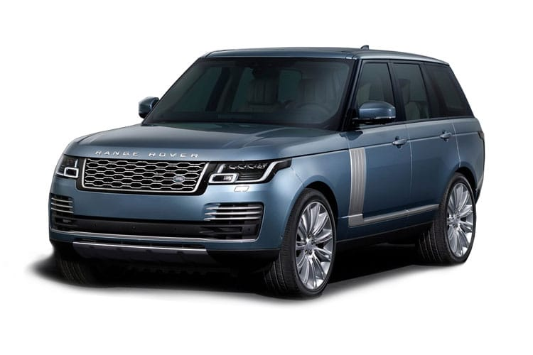 Front view of Land Rover Range Rover 2.0 P400e Phev Vogue Auto