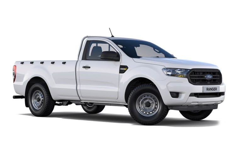 Front view of Ford Ranger Pick Up 2.0 Ecoblue 170 Regular XL 4X4