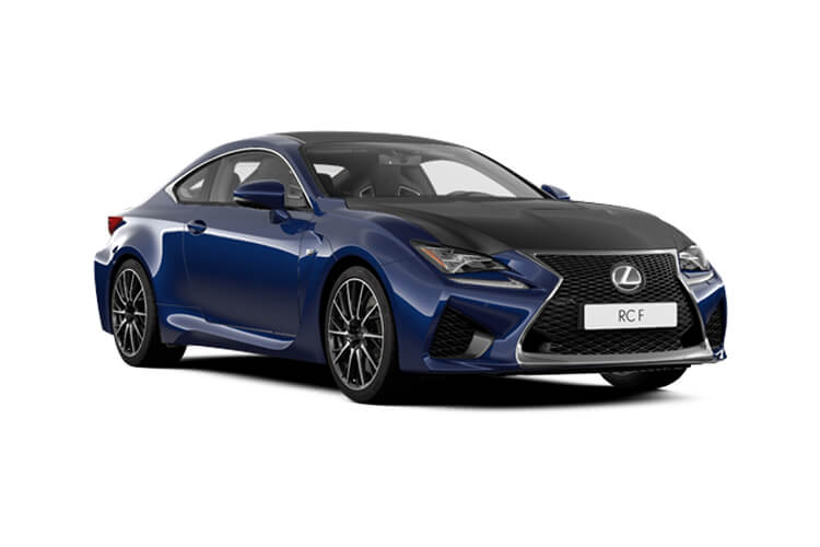 Front view of Lexus RC F 2 Door Coupe 5.0 463hp Auto