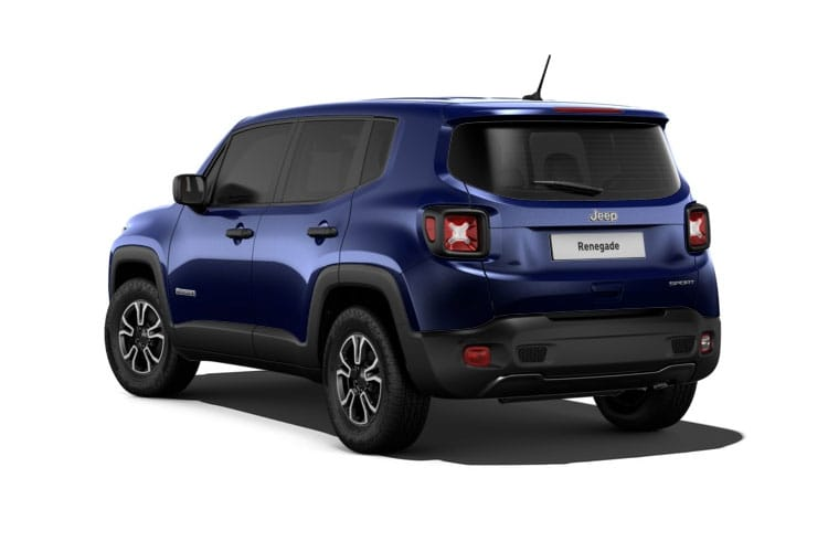 Back view of Jeep Renegade 1.3 T4 Gse 150hp S Ddct